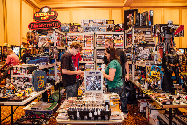 Vendors at Southern-Fried Gameroom Expo