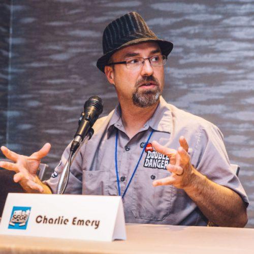 Charlie Emery at SFGE