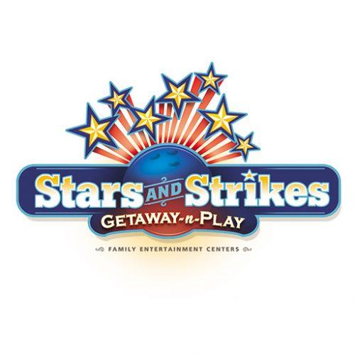 Stars and Strikes Family Entertainment Center Logo