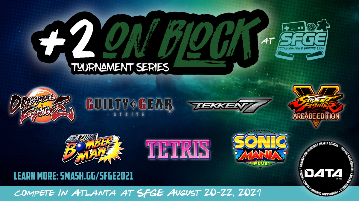 +2 On Block Video Game Tournaments at SFGE
